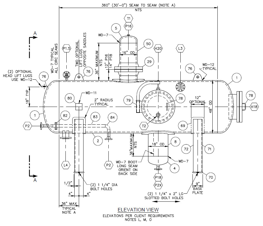 Weld Reinforcement Calculations for Pressure Vessels